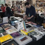 Photobook table at the pH Arena, photo: Chris Talbot / Musée Magazine